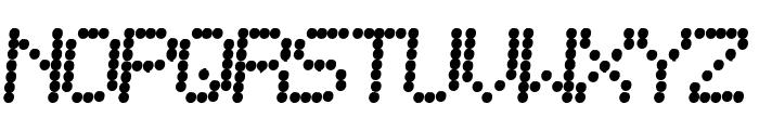 SF Telegraphic Bold Italic Font UPPERCASE