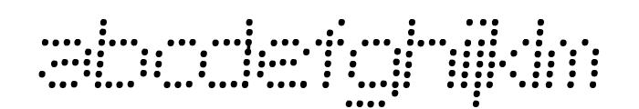 SF Telegraphic Light Bold Italic Font LOWERCASE