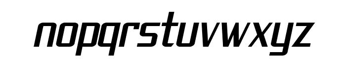 SF Theramin Gothic Condensed Oblique Font LOWERCASE