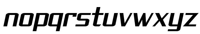 SF Theramin Gothic Oblique Font LOWERCASE