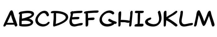 SF Toontime Extended Font UPPERCASE