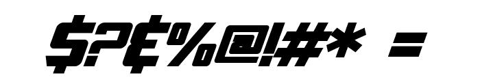 SF TransRobotics Bold Italic Font OTHER CHARS