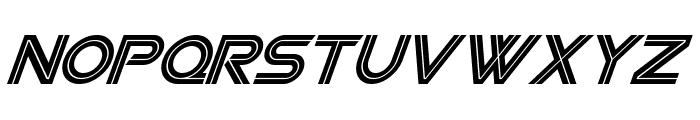 SF Viper Squadron Italic Font LOWERCASE