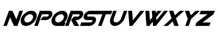 SF Viper Squadron Solid Italic Font UPPERCASE