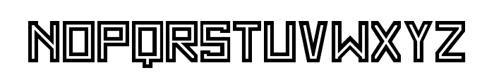 SF WADIM GIANT OUTLINE Font LOWERCASE
