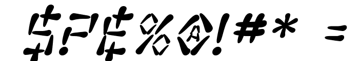 SF Wasabi Bold Italic Font OTHER CHARS