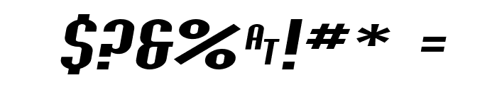 SF Willamette Extended Italic Font OTHER CHARS