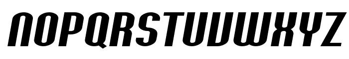 SF Willamette Extended Italic Font UPPERCASE