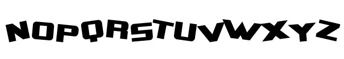SF Zero Gravity Font UPPERCASE