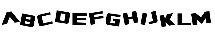 SF Zero Gravity Font LOWERCASE
