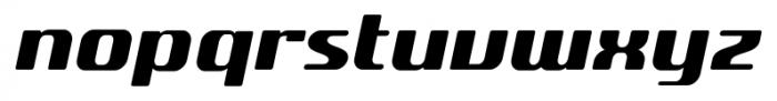 SF Quartzite Pro Black Italic Font LOWERCASE