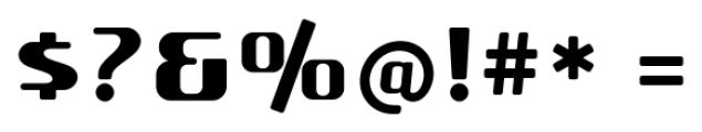 SF Quartzite Pro Black Font OTHER CHARS