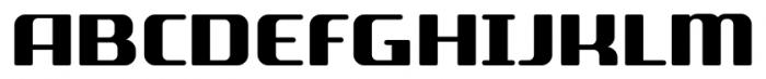 SF Quartzite Pro Black Font UPPERCASE
