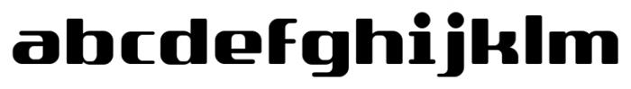 SF Quartzite Pro Black Font LOWERCASE