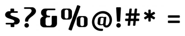 SF Quartzite Pro Bold Font OTHER CHARS