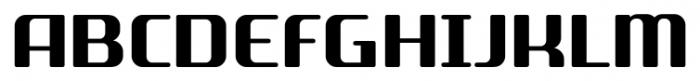SF Quartzite Pro Bold Font UPPERCASE