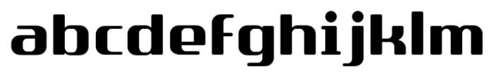 SF Quartzite Pro Bold Font LOWERCASE