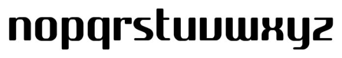 SF Quartzite Pro Cond Font LOWERCASE