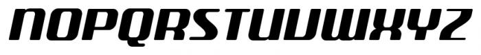 SF Quartzite Pro SC Black Italic Font UPPERCASE