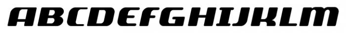 SF Quartzite Pro SC Black Italic Font LOWERCASE