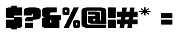 Sforzando Altissimo Medium Font OTHER CHARS