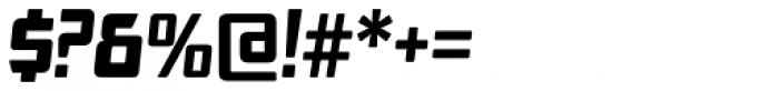 SF Animatron Bold Italic Font OTHER CHARS