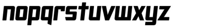 SF Animatron Bold Italic Font LOWERCASE