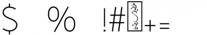 SF Khaled Light   Font OTHER CHARS