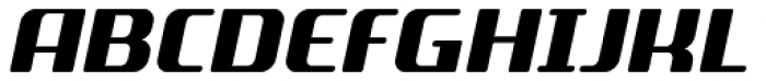 SF Quartzite Pro Black Italic Font UPPERCASE