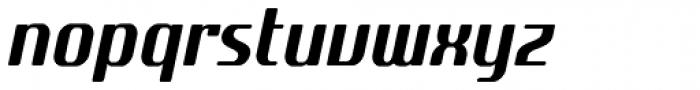 SF Quartzite Pro Cond Italic Font LOWERCASE