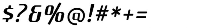 SF Quartzite Pro Italic Font OTHER CHARS