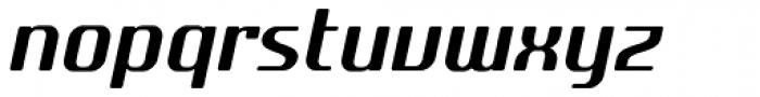 SF Quartzite Pro Italic Font LOWERCASE