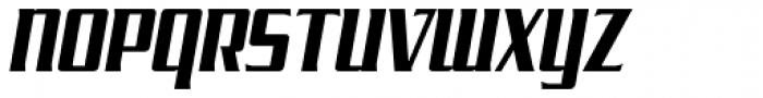 SF Tekamah Bold Italic Font UPPERCASE