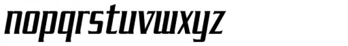 SF Tekamah Italic Font LOWERCASE