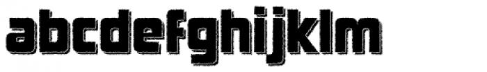 SFPortabello Shadow Font LOWERCASE