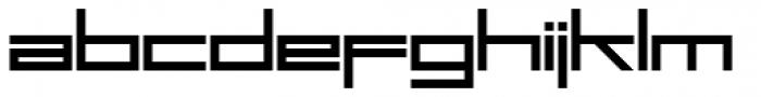 SFSquare Head Pro Font LOWERCASE