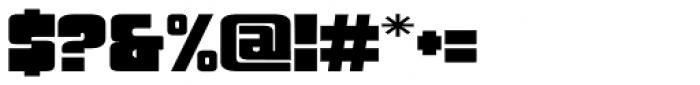 Sforzando Altissimo Font OTHER CHARS