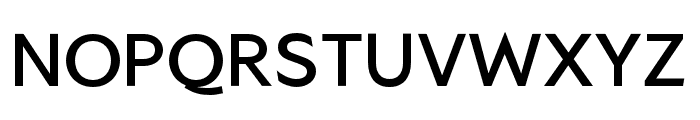 SG Alternative High-Alt Font UPPERCASE