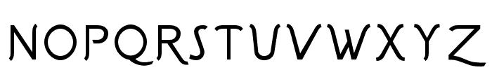 Sgriffo-Italic Font UPPERCASE