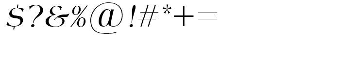 SG Americana SB Italic Font OTHER CHARS