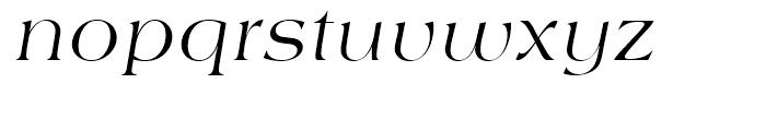 SG Americana SB Italic Font LOWERCASE