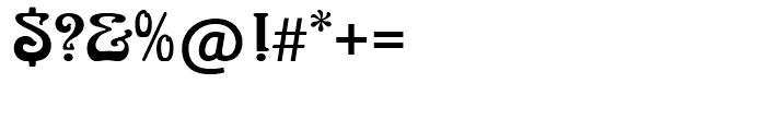 SG Arnold Boecklin SH Regular Font OTHER CHARS