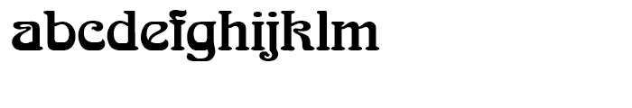 SG Arnold Boecklin SH Regular Font LOWERCASE