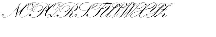SG Artscript No 1 SB Regular Font UPPERCASE