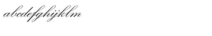 SG Artscript No 1 SB Regular Font LOWERCASE