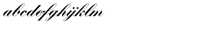 SG Artscript No 1 SH Bold Font LOWERCASE