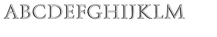 SG Augustea Open SB Regular Font UPPERCASE