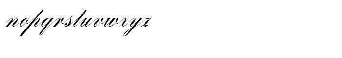 SG Bank Script SB Regular Font LOWERCASE