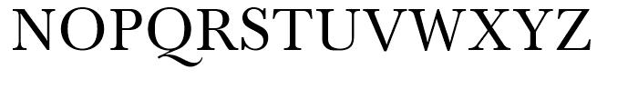 SG Baskerville No 1 SB Regular Font UPPERCASE