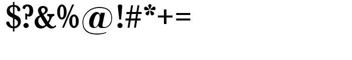 SG Baskerville No 1 SH Medium Font OTHER CHARS